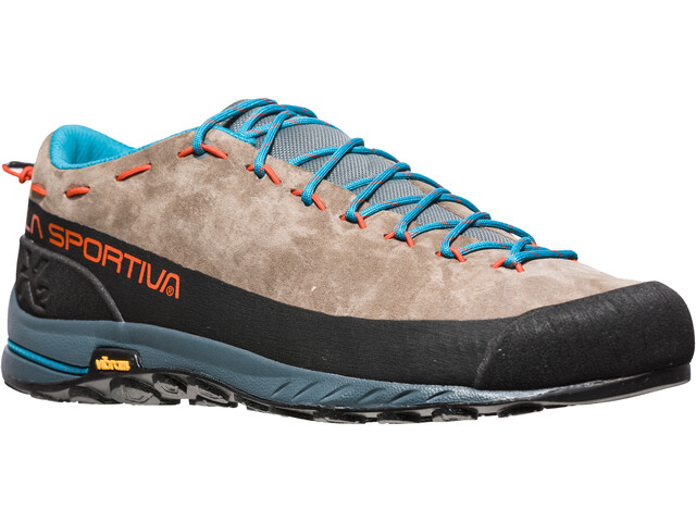 La Sportiva TX2 Leather Chaussures Homme, falcon brown/tangerine